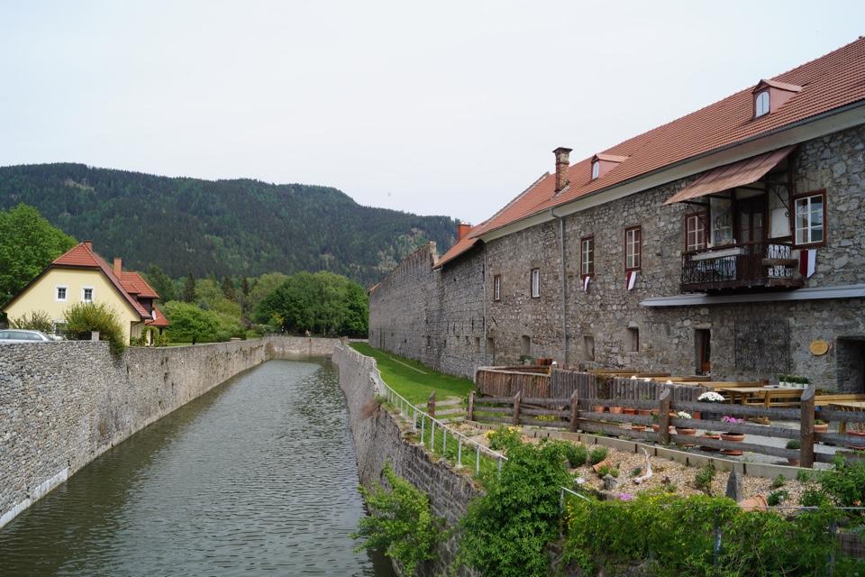 Felsenkeller - Stadtgraben